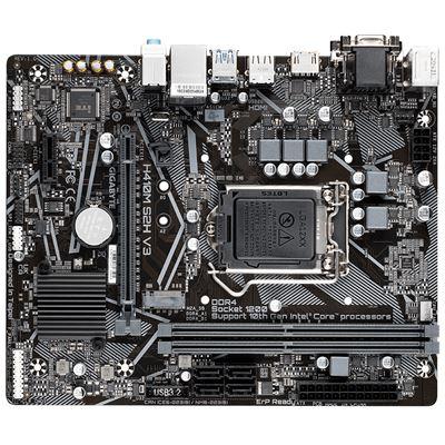 Image sur Gigabyte carte mère Intel H510 LGA 1200 micro ATX (H410M S2H V3)