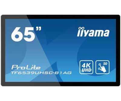 Image sur iiyama tableau blanc interactif et accessoire 165,1 ... (TF6539UHSC-B1AG)