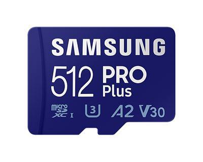 Image sur Samsung PRO Plus mémoire flash 512 Go MicroSDXC UHS-I C ... (MB-MD512KA/EU)