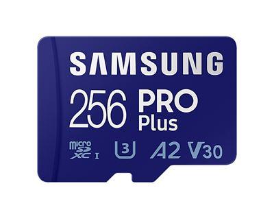 Image sur Samsung PRO Plus mémoire flash 256 Go MicroSDXC UHS-I C ... (MB-MD256KA/EU)