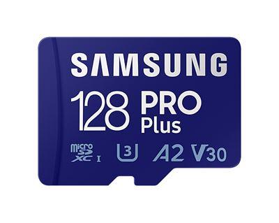 Image sur Samsung PRO Plus mémoire flash 128 Go MicroSDXC UHS-I C ... (MB-MD128KA/EU)