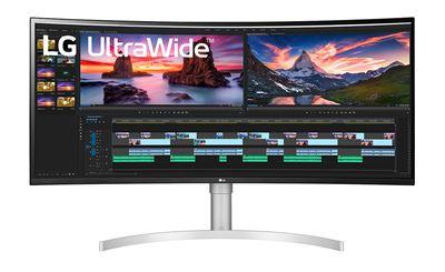 """Image sur LG écran plat de PC 96,5 cm (38"""") 3840 x 1600 pixels Ultra ... (38WN95C-W)"""