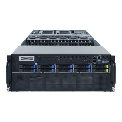 Image sur Gigabyte G482-Z54 Socket SP3 Rack (4 U) Noir (6NG482Z54MR-00)