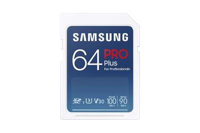 Image sur Samsung PRO Plus mémoire flash 64 Go SDXC UHS-I (MB-SD64K/EU)