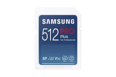 Image sur Samsung PRO Plus mémoire flash 512 Go SDXC UHS-I (MB-SD512K/EU)