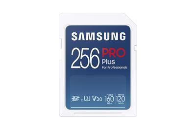 Image sur Samsung PRO Plus mémoire flash 256 Go SDXC UHS-I (MB-SD256K/EU)
